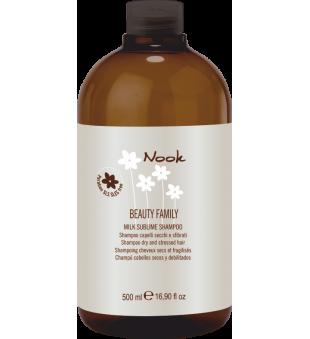 Nook Milk Sublime Šampūnas sausiems ir pažeistiems plaukams, 500 ml | inbeauty.lt