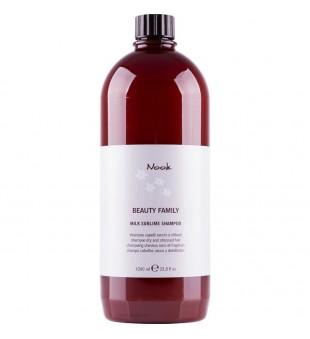 Nook Milk Sublime Šampūnas sausiems ir pažeistiems plaukams, 1000 ml | inbeauty.lt