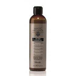 Secret Argan Šampūnas sausiems ar pažeistiems plaukams, 250 ml