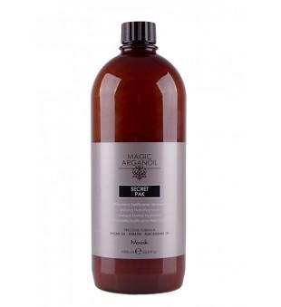 Nook Secret Argan Kaukė sausiems, pažeistiems ar besišiaušiantiems plaukams (pH 5,0), 1000 ml   inbeauty.lt