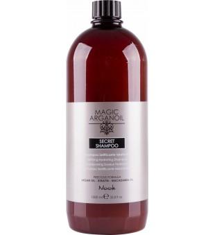 Nook Secret Argan Šampūnas sausiems ar pažeistiems plaukams, 1000 ml | inbeauty.lt