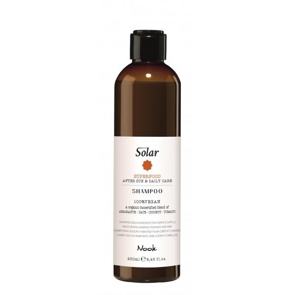 Solar Superfood Saulės linijos šampūnas pH 4.5 – 5.5, 250 ml