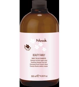 Nook Sweet Relax Giliai drėkinantis, tiesinantis šampūnas, 500 ml | inbeauty.lt