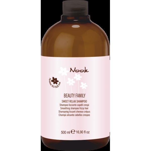 Sweet Relax Giliai drėkinantis, tiesinantis šampūnas, 500 ml