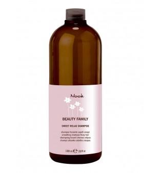 Nook Sweet Relax Giliai drėkinantis, tiesinantis šampūnas, 1000 ml | inbeauty.lt