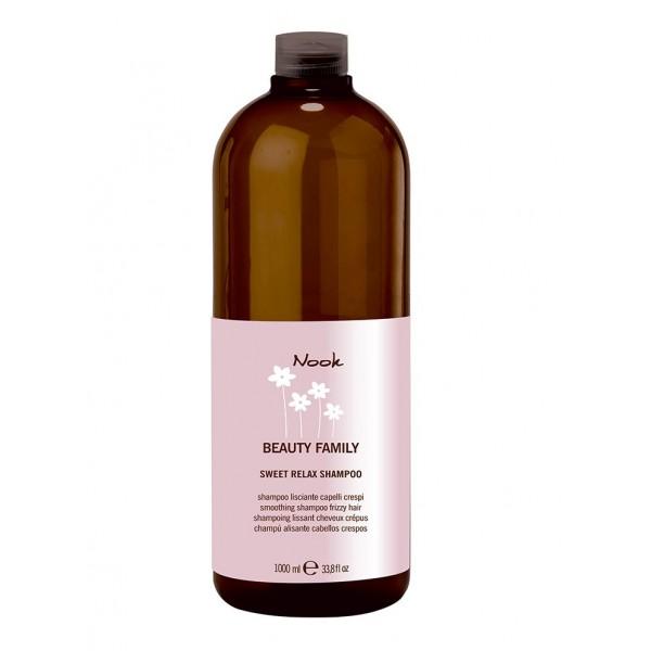 Sweet Relax Giliai drėkinantis, tiesinantis šampūnas, 1000 ml