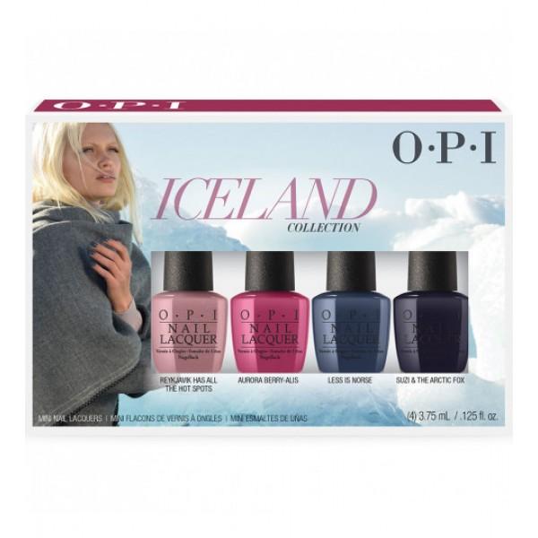 Nagų lakų rinkinys Iceland 4×3,75 ml