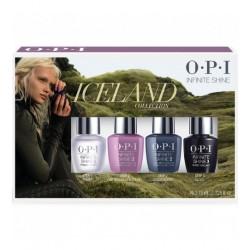 Iceland Kit Hibridinių nagų lakų rinkinys 4x3,75 ml