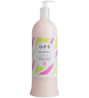 OPI Avojuice Ginger Lily Hand and Body Lotion Imbiero lelijų aromato rankų ir kūno balzamas, 600ml | inbeauty.lt