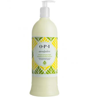 OPI Avojuice saldžiųjų citrinų aromato rankų ir kūno balzamas, 250ml | inbeauty.lt