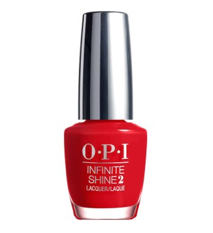 OPI Hibridinis nagų lakas - Unequivocally Crimson, 15 ml | inbeauty.lt