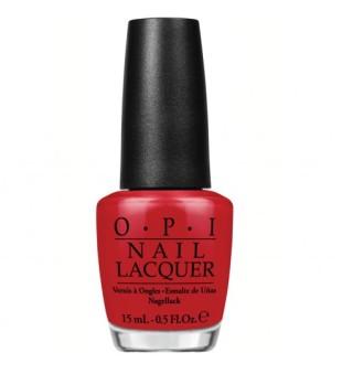 OPI Nagų lakas - Red Hot Rio, 15 ml | inbeauty.lt