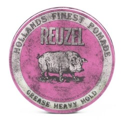 Pink Grease Heavy Hold Pomade - Pomada plaukams, 35 g