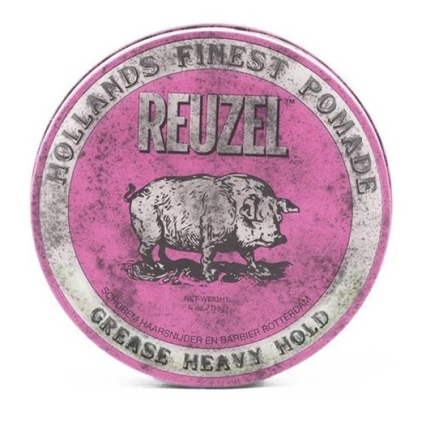 Pink Grease Heavy Hold Pomade – Pomada plaukams, 35 g