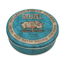 Blue Strong Hold High Sheen Pomade - Pomada plaukams, 340 g