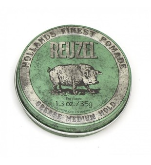Reuzel Green Grease Medium Hold Pomade - Pomada plaukams, 35 g | inbeauty.lt