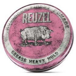 Pink Grease Heavy Hold Pomade - Pomada plaukams, 340 g