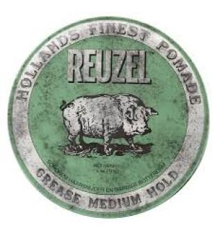 Reuzel Green Grease Medium Hold Pomade - Pomada plaukams, 113 g | inbeauty.lt