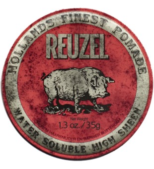 Reuzel Red Water Soluble High Sheen Pomade - Pomada plaukams, 113 g | inbeauty.lt