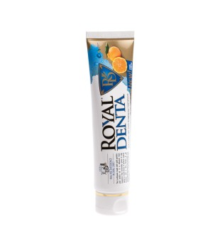 Royal Denta Jeju Citrus And Gold Technology Toothpaste Dantų pasta su auksu ir unshiu, 130g | inbeauty.lt