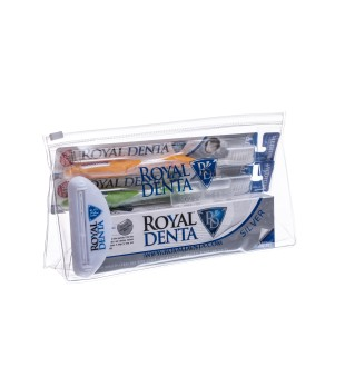 Royal Denta Silver GO Dantų priežiūros rinkinys, 1 vnt. | inbeauty.lt