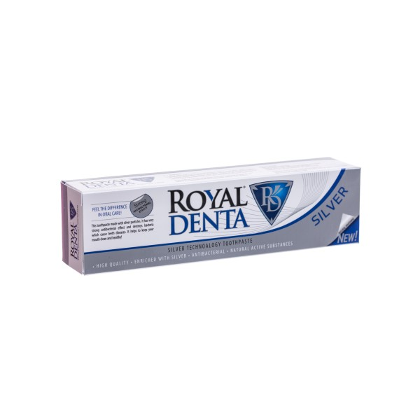 Silver Technology Toothpaste Dantų pasta su sidabru, 130g