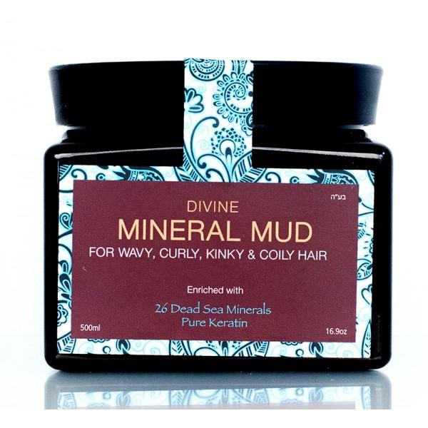Mineral Mud Drėkinanti kaukė-mineralinis purvas plaukams, 250 ml