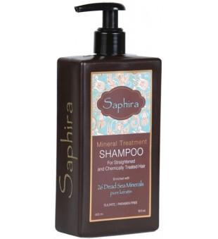 Saphira Divine Shampoo Intensyviai drėkinantis šampūnas plaukams, 400 ml   inbeauty.lt