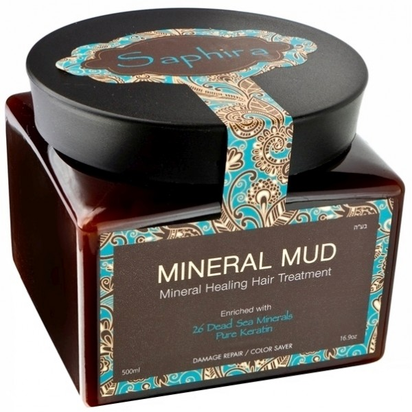 Mineral Hair Mud Mask with Keratin  Kaukė-mineralinis purvas plaukams su keratinu, 500 ml