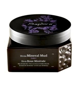 Saphira Divine Mineral Mud Drėkinanti kaukė-mineralinis purvas plaukams, 250 ml | inbeauty.lt