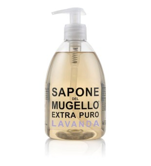 Sapone del Mugello Liquid Soap With Lavender Extract Levandų aromato skystas muilas, 500 ml | inbeauty.lt