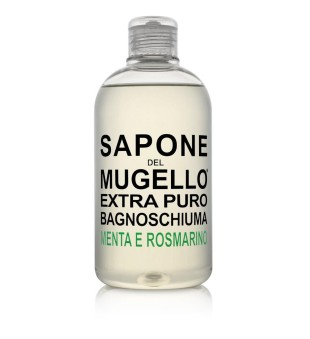 Sapone del Mugello Bath Foam With Mint And Rosemary Mėtų ir rozmarinų aromato dušo gelis - vonios putos, 500 ml | inbeauty.lt