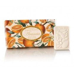 Orange And Cinnamon Scented Soap Gift Set Apelsinų aromato muilų rinkinys, 3x125g