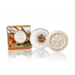 Apelsinų ir cinamono aromato muilas, 100g