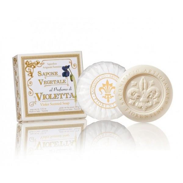 Violet Scented Soap Augalinis žibuoklių aromato muilas, 100g
