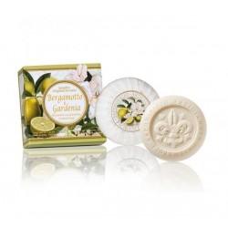 Bergamočių ir gardenijų aromato muilas, 100g