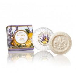 Lavender And Cedar Scented Soap Levandų ir kedrų aromato muilas, 100g