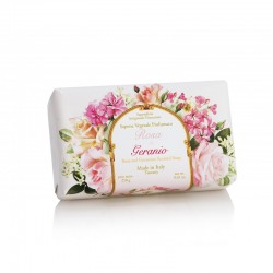 Rose And Geranium Scented Soap Rožių ir pelargonijų aromato muilas, 250g