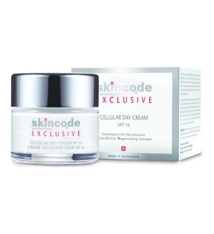 SkinCode Cellular Day Cream SPF 15 Drėkinamasis veido kremas su vitaminais, 50 ml | inbeauty.lt