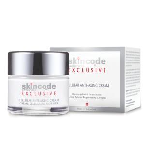 SkinCode Cellular Anti-Aging Cream Veido kremas nuo raukšlių su vitaminu E, 50 ml | inbeauty.lt
