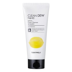 Clean Dew Lemon Foam Cleanser Veido prausiklis su citrinomis, 180ml