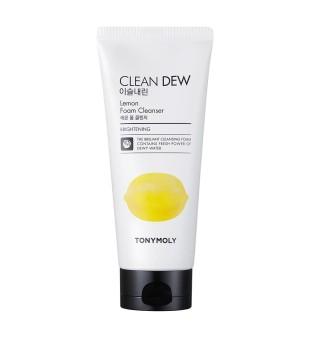 Tony Moly Clean Dew Lemon Foam Cleanser Veido prausiklis su citrinomis, 180ml | inbeauty.lt