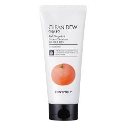 Clean Dew Red Grapefruit Putojantis veido prausiklis, 180 ml