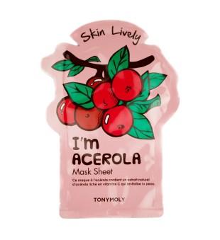 Tony Moly I'm Acerola Mask Sheet Lakštinė veido kaukė, 1vnt | inbeauty.lt