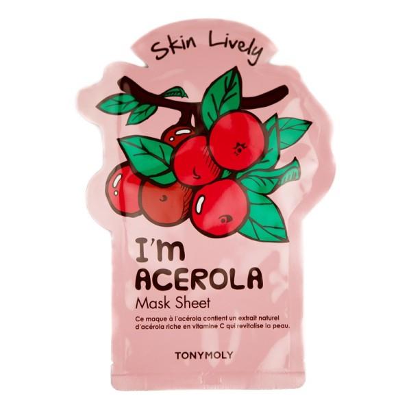 I'm Acerola Mask Sheet Lakštinė veido kaukė, 1vnt