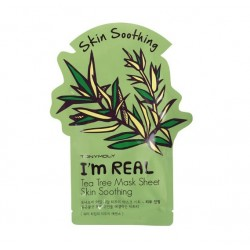 I'm Real Tea Tree Mask Sheet Lakštinė veido kaukė, 21g