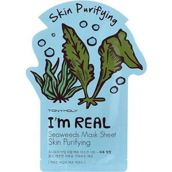 I'm Seaweed Mask Sheet Lakštinė veido kaukė su jūros dumbliais, 1vnt.