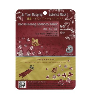 Ja Yeon Mapping  Red Ginseng Veido kaukė su ženšenio ekstraktu, 1vnt. | inbeauty.lt