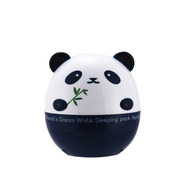 Panda's Dream White Sleeping Pack Skaistinamoji naktinė veido kaukė, 50g