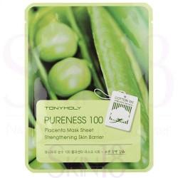Pureness 100 Placenta Mask Sheet Lakštinė kaukė su placentos ekstraktu, 1vnt.